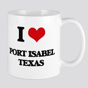 I love Port Isabel Texas Mugs